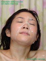 Эротические фото со спермой на лицах молодых блядей blt02