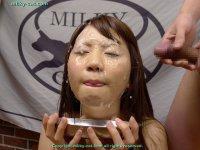 Эротические фотографии со спермой на лице молодых блядей bs004