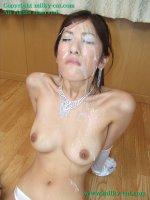 Порно фотографии со спермой на лице красивых шлюх czm03