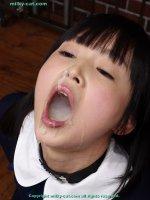 Сексуальные фотографии со спермой на лице красивых блядей dmc28