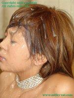 Эротические фотографии со спермаком на лице прекрасных блядей fb05