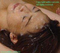 Порно фото со спермаком на лице прекрасных блядей gs004