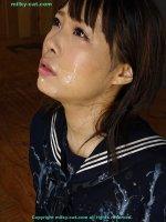 Сексуальные фотки со спермой на губах прекрасных блядей ikoma02uni