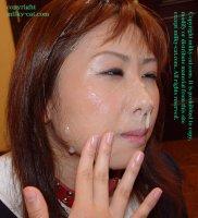 Эротические фотки со спермаком на лице симпатичных шлюх sfd05