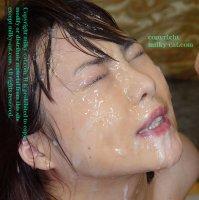Эротические фотографии со спермой на лицах молодых шалав zg06